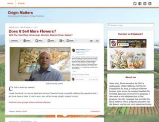 americasflowers.org screenshot
