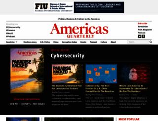 americasquarterly.org screenshot
