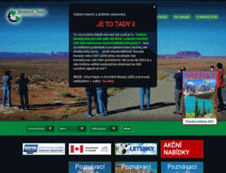 americatours.cz screenshot