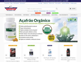 americavitaminas.com screenshot