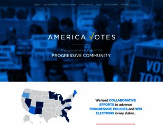 americavotes.org screenshot