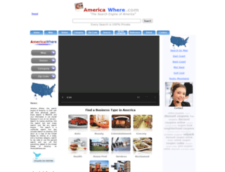americawhere.com screenshot
