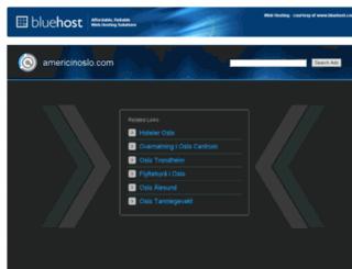 americinoslo.com screenshot