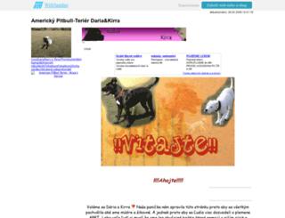 americkypitbullterier.websnadno.cz screenshot