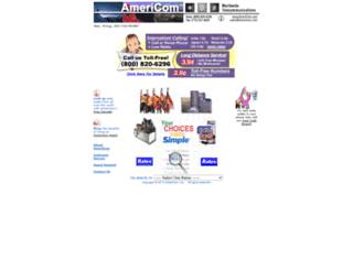 americom.com screenshot