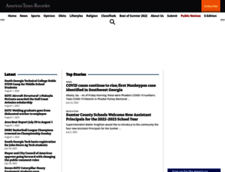 americustimesrecorder.com screenshot