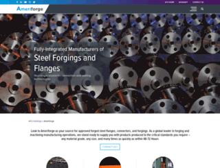 ameriforge.com screenshot