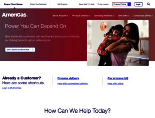 amerigas.com screenshot