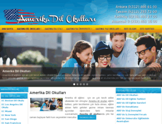 amerikadilokullari.gen.tr screenshot