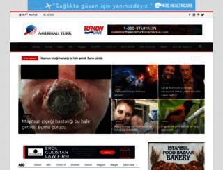 amerikaliturk.com screenshot