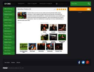 amerikanfutbolu3d.oyunu.net screenshot
