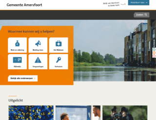 amersfoort.nl screenshot