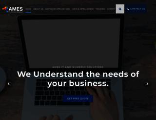 ames-it-solutions.com screenshot
