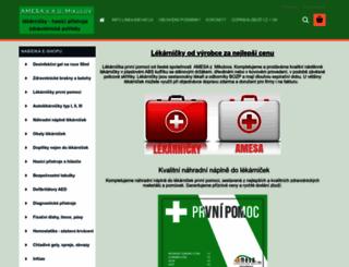 amesa.cz screenshot