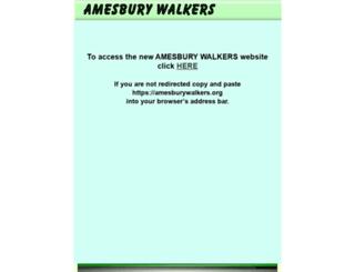amesburywalkers.webplus.net screenshot