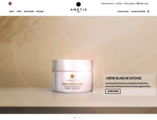 ametiscosmetics.com screenshot