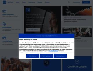 amex.de screenshot