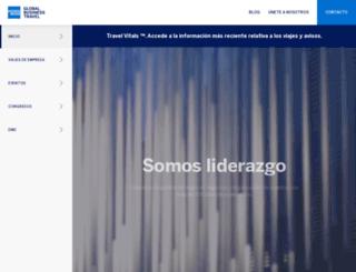 amexbarcelo.com screenshot