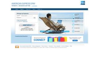 amexepay.com screenshot