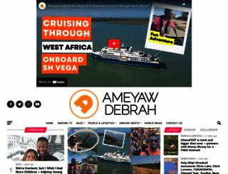 ameyawdebrah.com screenshot
