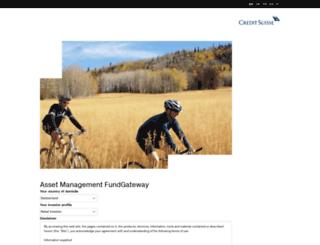 amfunds.credit-suisse.com screenshot