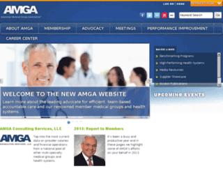 amga.atsol.org screenshot