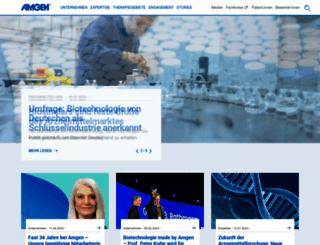 amgen.de screenshot