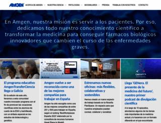 amgen.es screenshot
