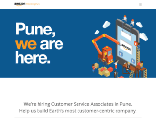 amhiringpune.com screenshot