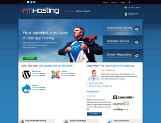 amhosting.com screenshot