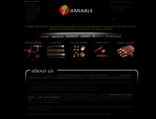 amiableimpex.com screenshot