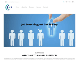 amiableservices.com screenshot