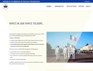 amicale-1rcp.fr screenshot