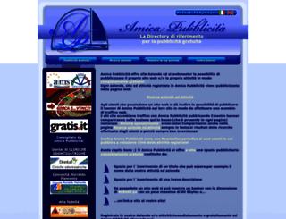 amicapubblicita.net screenshot