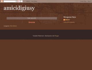 amicidigiusy.blogspot.com screenshot