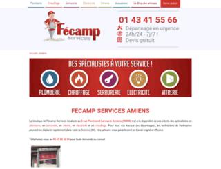 amiens.fecamp-services.com screenshot