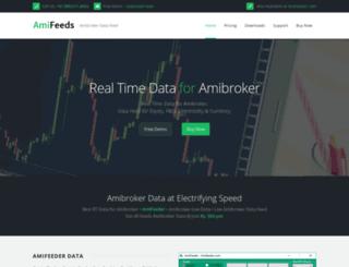 amifeeds.com screenshot