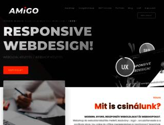 amigo-webdesign.hu screenshot