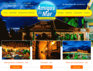 amigosdomar24h.com.br screenshot