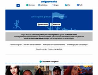 amigosmexico.com screenshot