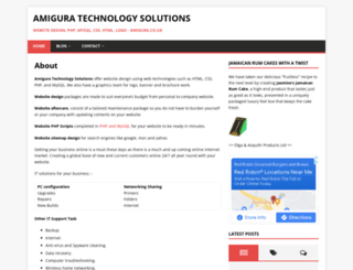 amigura.co.uk screenshot