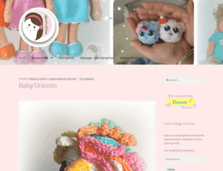 amigurumibb.com screenshot