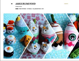 amigurumifood.blogspot.be screenshot