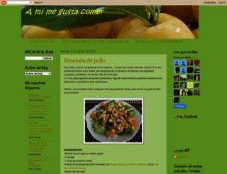 amimegustacomer.blogspot.com screenshot