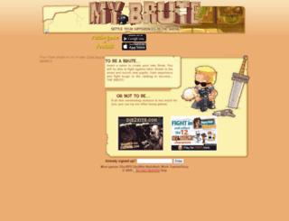 amin504.mybrute.com screenshot