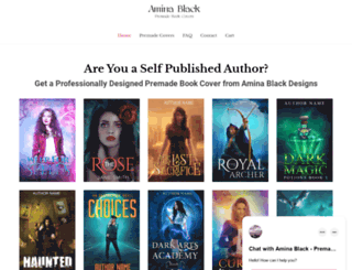 aminablack.com screenshot