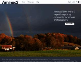 aminus3.com screenshot