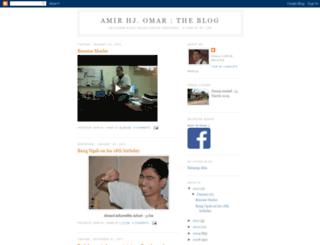 amir-omar.blogspot.com screenshot