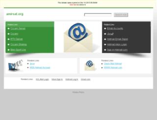 amirsat.org screenshot