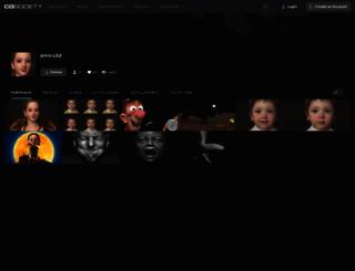 amiru3d.cgsociety.org screenshot